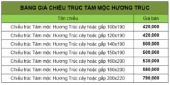 Chiếu trúc tăm mộc Hương Trúc hàng Việt Nam chất lượng cao