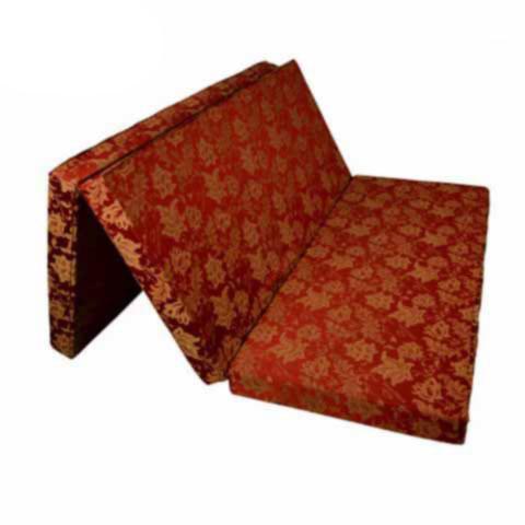 Đệm sông hồng bông ép vải gấm 3 mảnh
