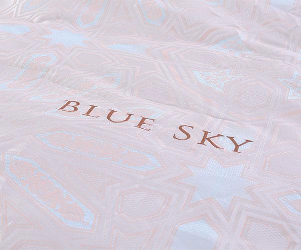 Chăn ga gối phủ Blue Sky HV 50