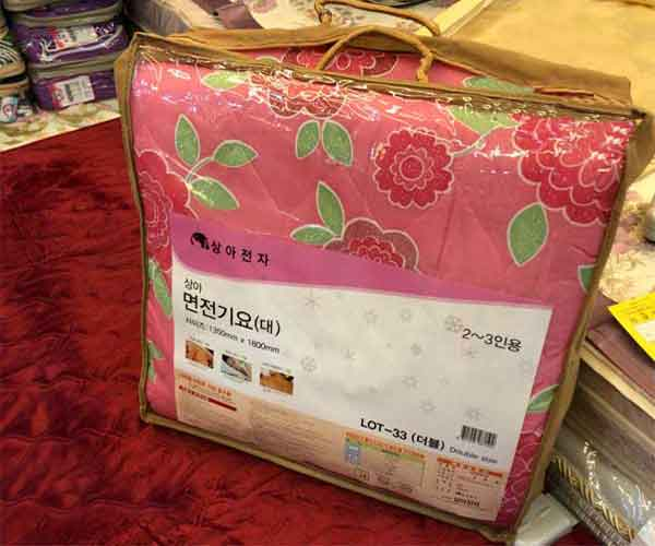 Chăn đệm điện Korea cotton chất lượng cao