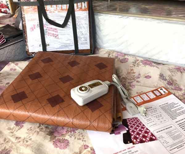 Chăn đệm điện Kyungdong vải giả Da cao cấp
