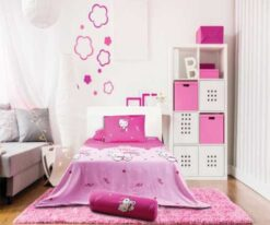 Bộ chăn ga gối Hello Kitty K16033