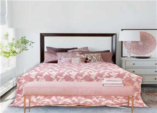 Chăn đông Organic mềm mại màu hồng phấn