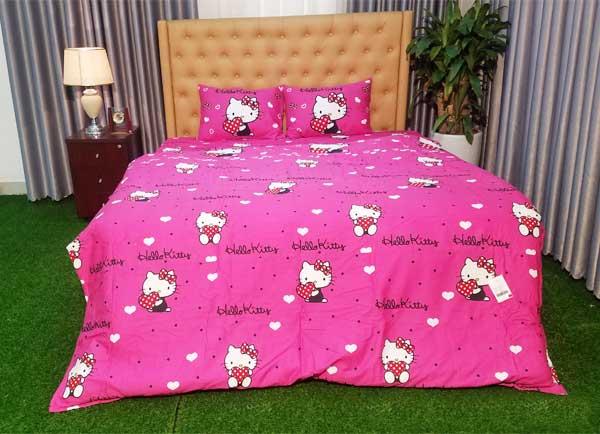 Bộ chăn ga gối Hello Kitty K15029