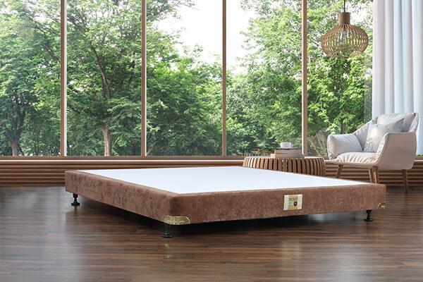Kệ giường gỗ vải gấm Hanvico VP1