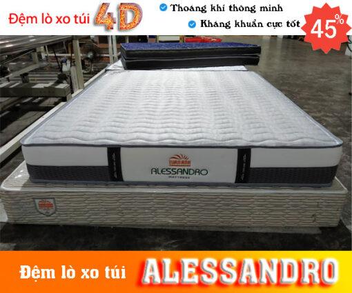 Đệm lò xo túi độc lập tốt nhất Alessandro Tuấn Anh là sản phẩm cao cấp hoàn hảo cho gia đình