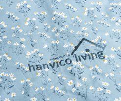 Họa tiết trên vỏ chăn Hanvico Living LV18