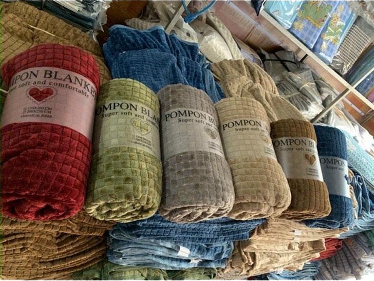 Chăn lông thỏ Blanket 4 mùa tại cửa hàng